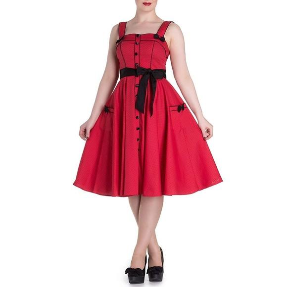 Hell Bunny Dresses & Skirts - Hell Bunny 50'S Martie Polka Dot Dress